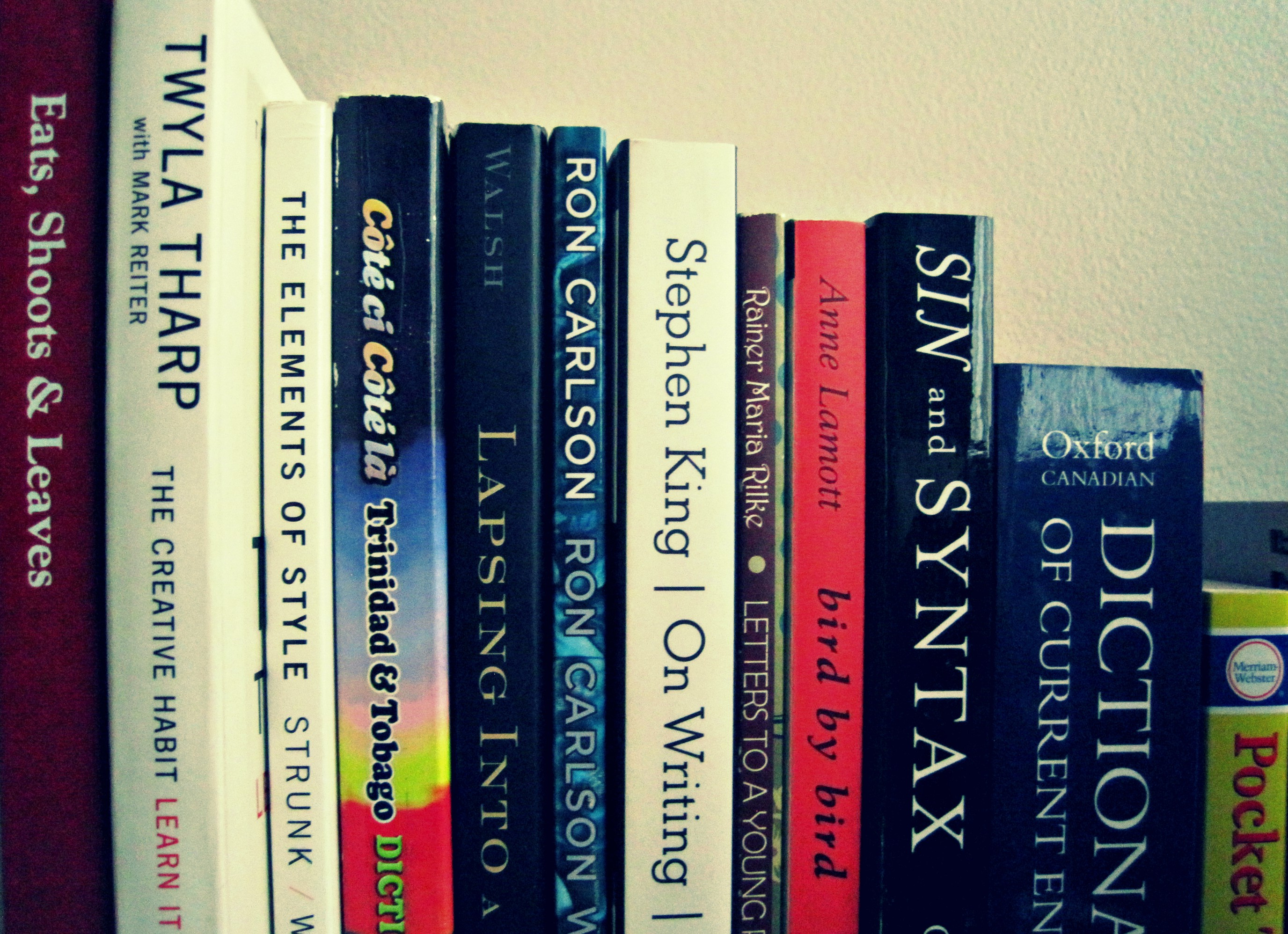 Style guides, memoirs, and musings in craft