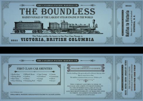 Blog 6 - Boundless Train ticket