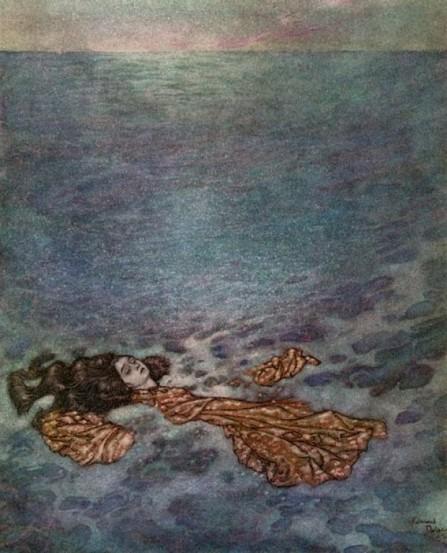 Blog 7 - Little Mermaid becoming sea foam.