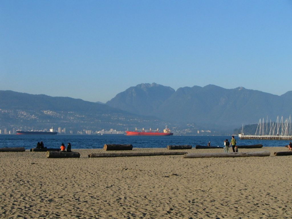 Jericho Beach, Vancouver, BC. Flying Penguin, Pacific Spirit Photography.